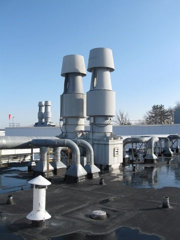 SI Group Rooftop Lab Exhaust